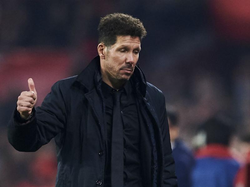 """Atlético Madrid - Simeone : """"Ne pas se montrer trop confiant"""""""