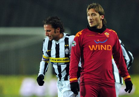 Who was better - Del Piero or Totti?