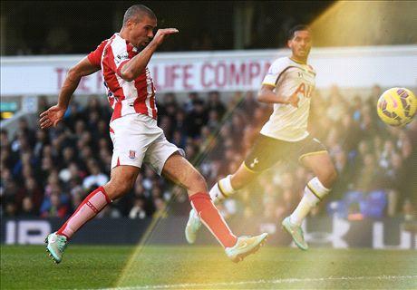 Player Ratings: Tottenham 1-2 Stoke City