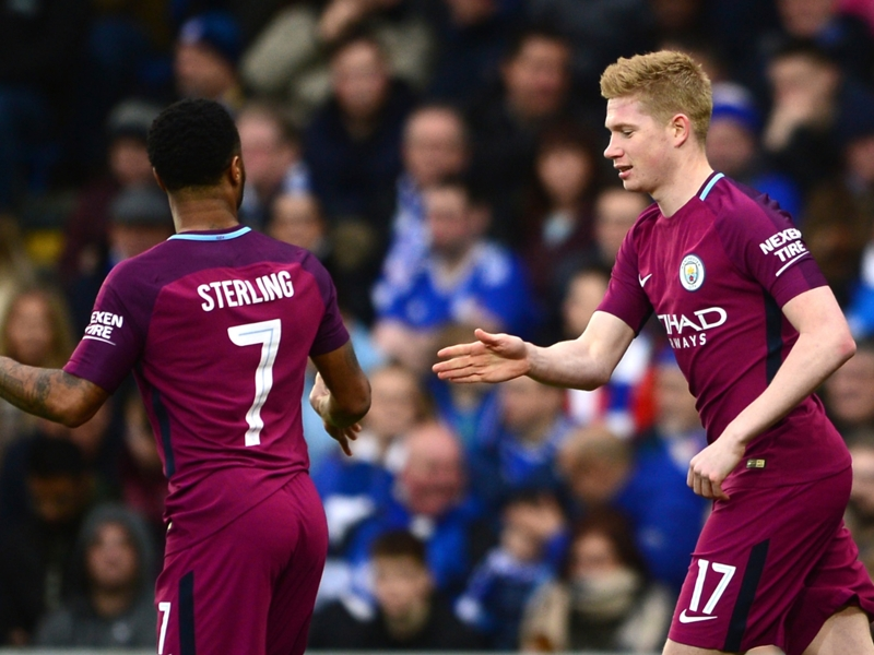 Man City boss Guardiola can't take credit for De Bruyne's clever free-kick