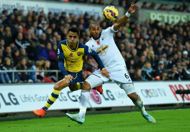 Swansea City 2-1 Arsenal: Hosts battle back to stun Gunners