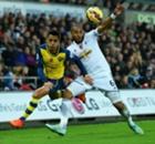 Premier, 11ª - Swansea batte Arsenal