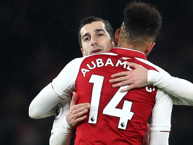 Aubameyang and Mkhitaryan discussed Arsenal reunion before making January moves