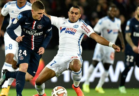 Marseille can't blame ref for PSG loss