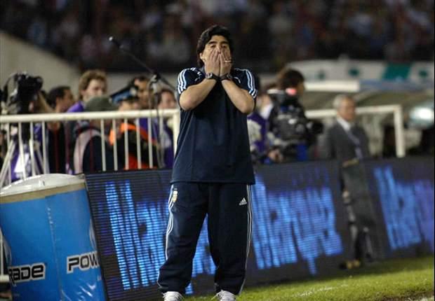 Diego Maradona Set To Make Four Changes Ahead Of Decisive Uruguay Clash