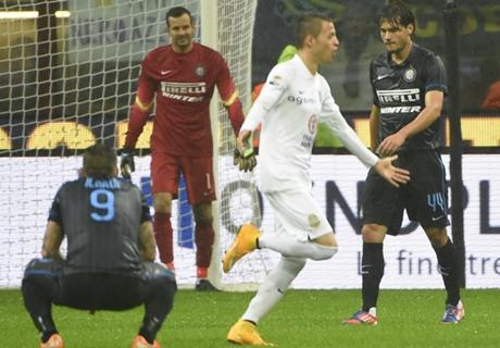 Inter no pudo mantener la ventaja