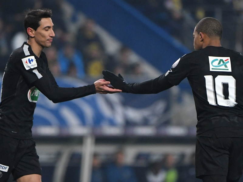 'Di Maria deserves to start against Real Madrid' - Mbappe hails PSG winger's form