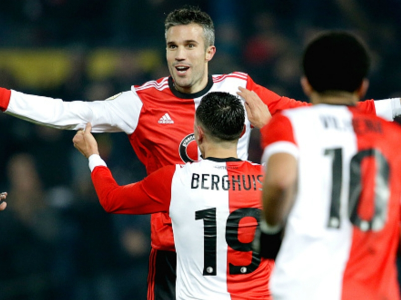 Robin van Persie scores first Feyenoord goal in 13 years