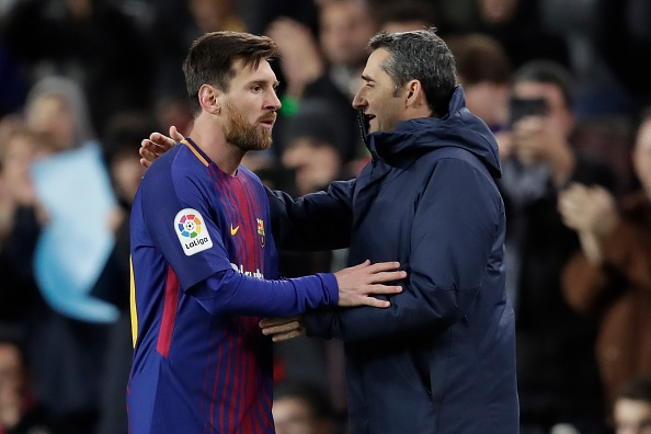 """Barça, Valverde : """"Messi ? Il nous surprend encore"""""""