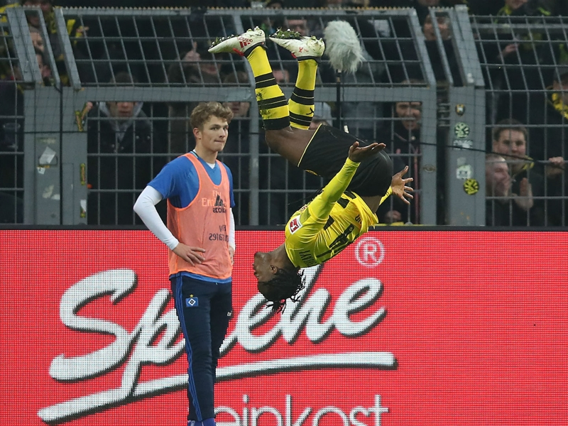 Borussia Dortmund 2 Hamburg 0: Batshuayi helps give Reus a winning return
