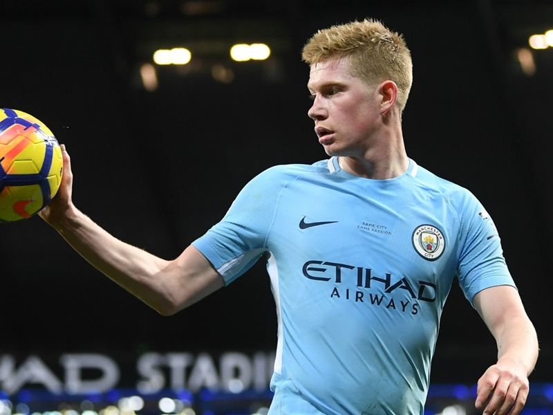 'Every team would love to have De Bruyne' - Aguero praises Man City team-mate