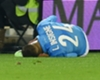 Napoli's Insigne suffers knee injury