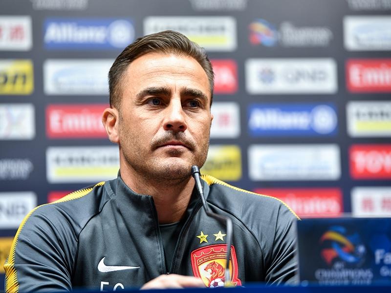 Cannavaro, coach le mieux payé en Chine