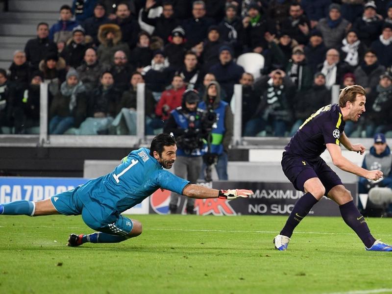 VIDÉO - Le but de Kane avec Tottenham face à la Juventus