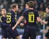 Christian Eriksen (CL) leads Tottenham celebrations against Juventus