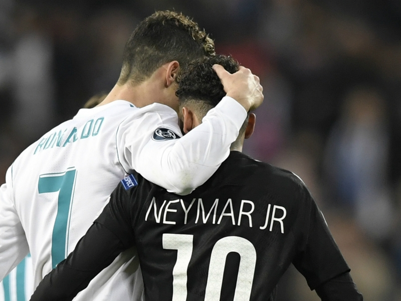 'Madrid are linked to 50 players' – Ronaldo laughs off Neymar rumours