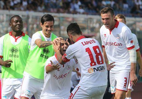 Serie B, 24ª - Tornado Bari: Frosinone k.o