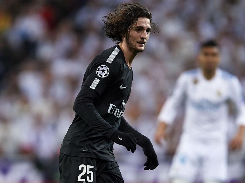 Real Madrid-PSG : l'UEFA a rejeté l'appel pour le carton jaune d'Adrien Rabiot