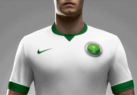 Saudi Arabia unveil new kits