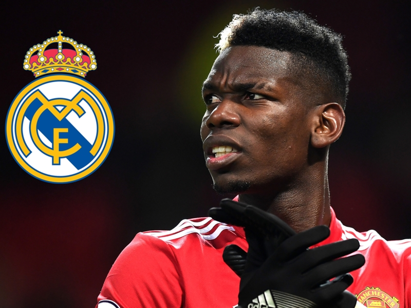 Could Real Madrid rescue Pogba from Manchester United?