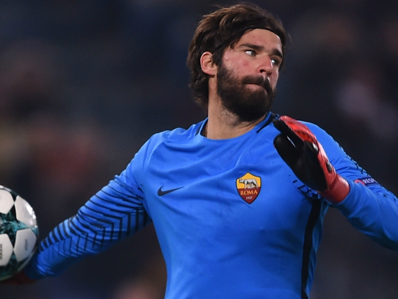 Liverpool pull out of £62m deal for Roma's Alisson