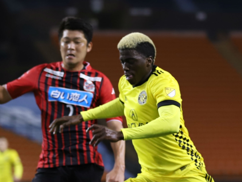 Zardes ready to deliver on promise as Columbus Crew's new No. 9