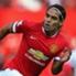 Falcao Manchester United Premier League 10112014