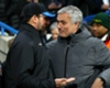 Jose Mourinho (R) with David Wagner