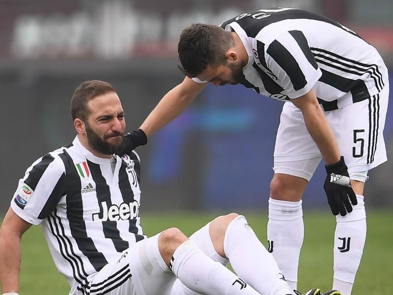 Juventus, Higuain rassurant sur son état de santé