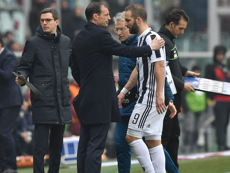 Torino 0 Juventus 1: Champions win derby but lose Higuain