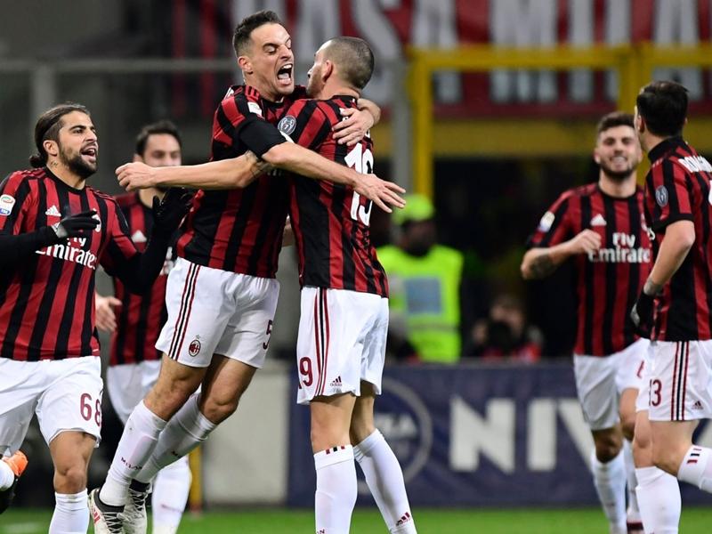 Il Milan ora sogna la Champions: scontri diretti con Roma e Inter