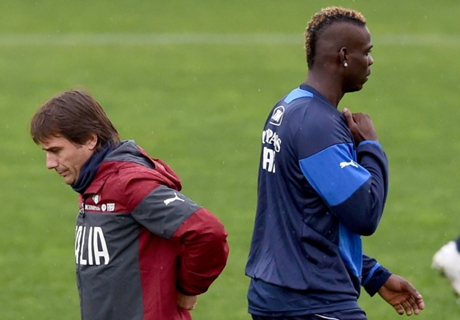 Conte: I've no time to change Balotelli