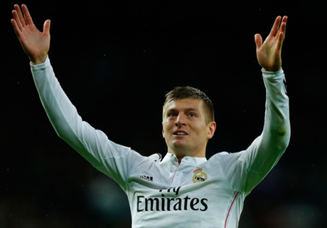 'Kroos was born to play at Madrid'