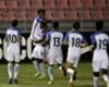 Zyen Jones (#15) celebrates a goal