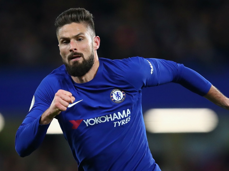 Giroud explains Chelsea choice and how Aubameyang forced Arsenal exit