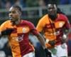Galatasaray goal celebration Kasimpasa Garry Rodrigues Bafetimbi Gomis 02182018