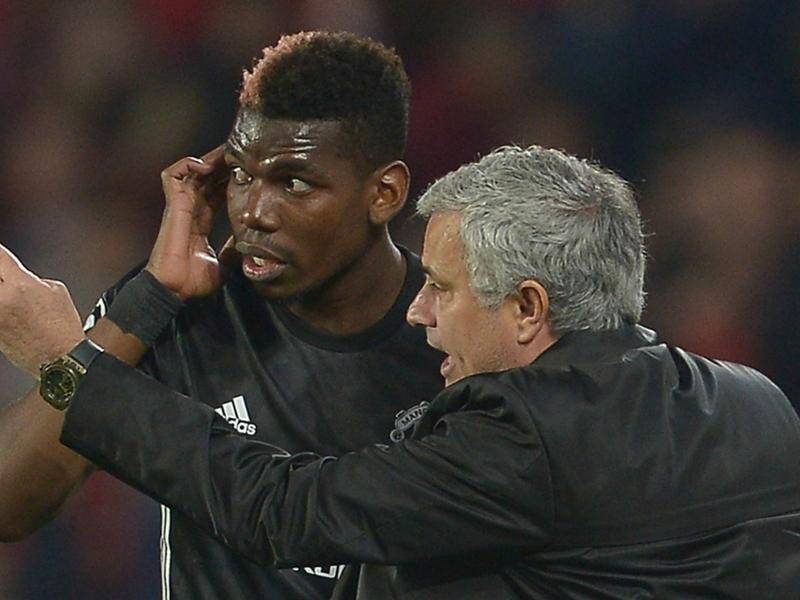 "Pogba n'a ""aucun problème"" avec Mourinho"