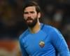 Roma goalkeeper Alisson