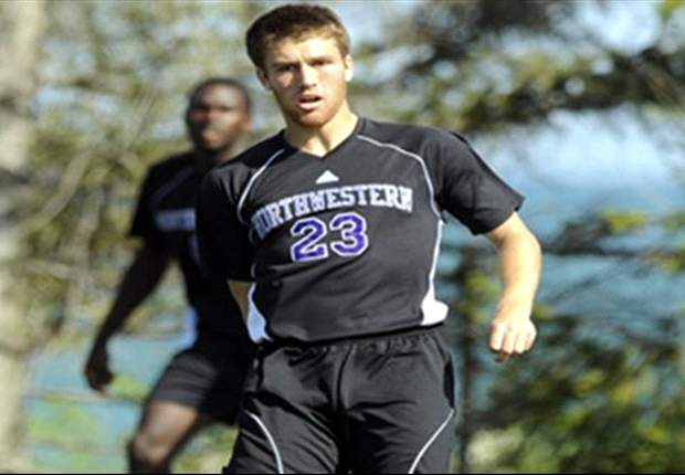 College Soccer Professor: Northwestern Forward Matt Eliason