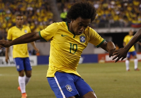 Willian: I'm not a certain Brazil starter