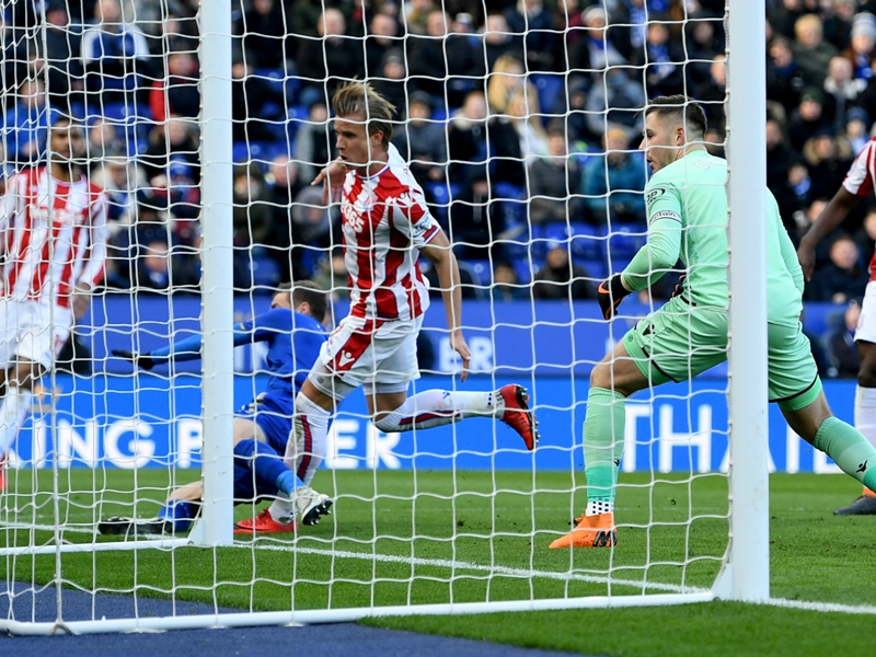 Leicester City 1 Stoke City 1: