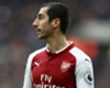 Henrikh Mkhitaryan playing for Arsenal