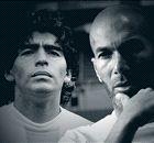 EKSKLUSIF - Zinedine Zidane: Diego Maradona Di Level Berbeda