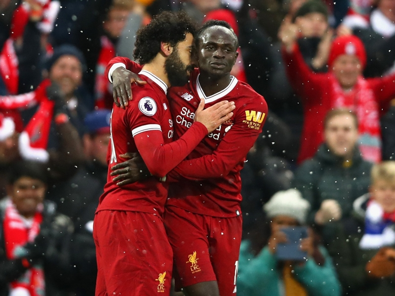 ICC: Liverpool duo Salah, Mane to sit out Borussia Dortmund clash