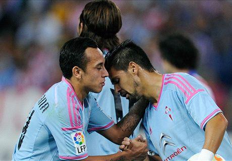 Copa del Rey: Celta 3-1 Las Palmas