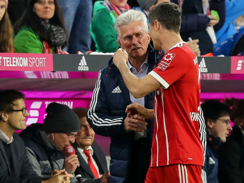 Jupp Heynckes ne peut pas comparer Robert Lewandowski et Cristiano Ronaldo