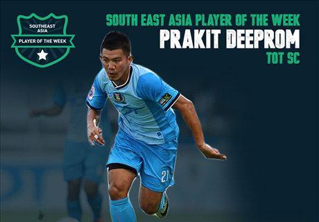 Goal SEA Player of the Week: Prakit Deeprom