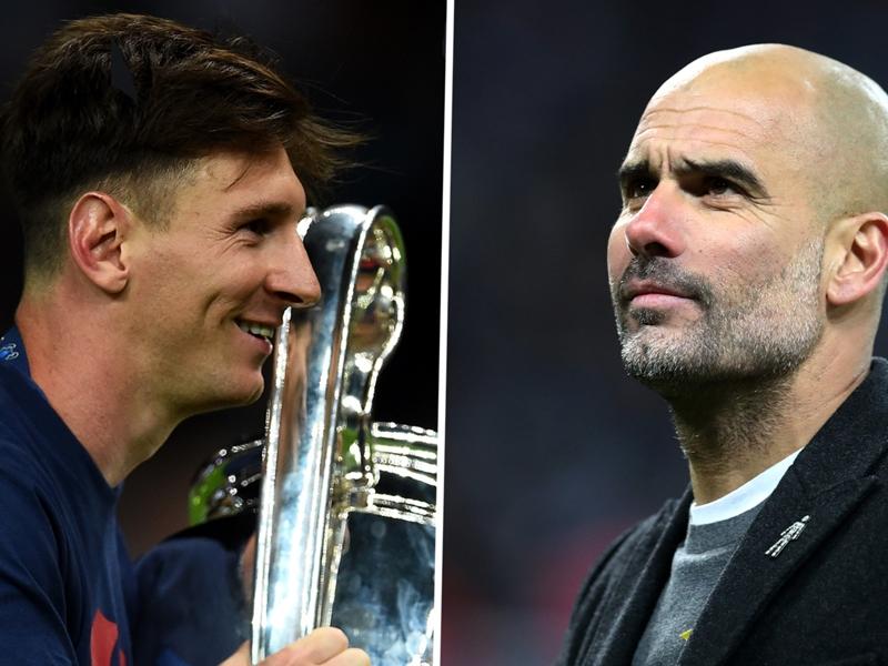 Guardiola dément avoir tenté de recruter Messi au Bayern Munich et à Manchester City