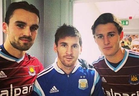 West Ham se rindió ante Messi