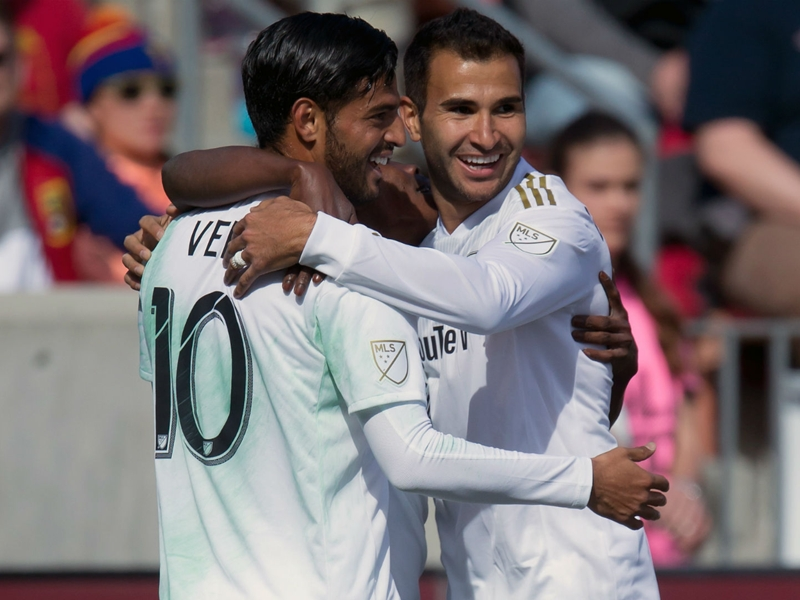 Vela scores first MLS goal as LAFC sends a warning to the rest of the league